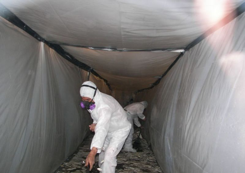 Galeria Demontaż azbestu dekontaminacja