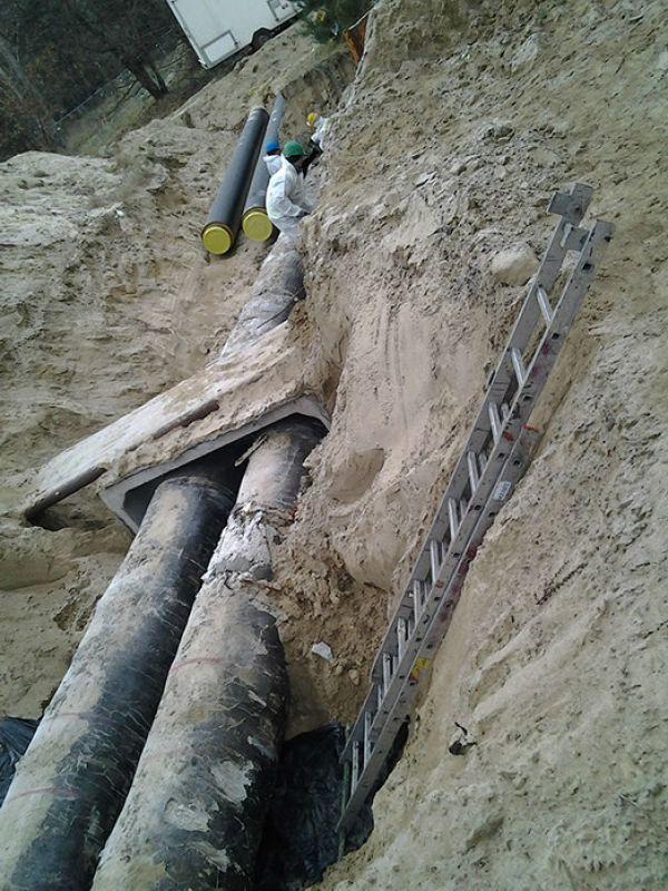 Galeria Demontaż otuliny azbestowo-cementowej Katowice