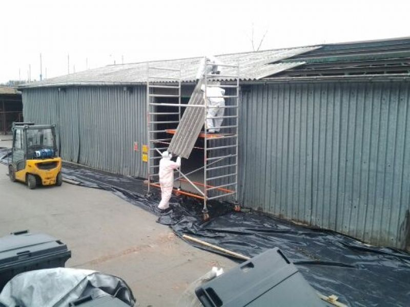 Galeria Usuwanie azbestu i eternitu Katowice