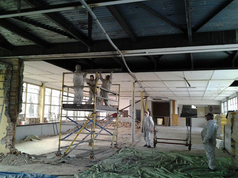 Galeria Usuwanie azbestu Warszawa