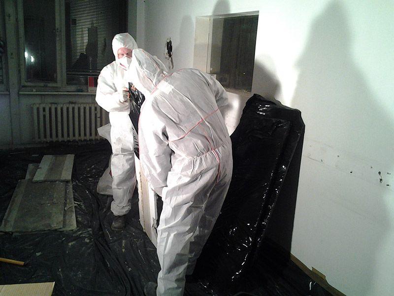 Galeria Usuwanie płyt azbestowych